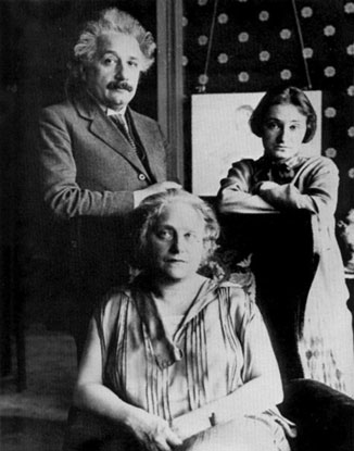 Einstein & family